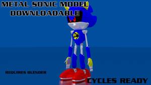 Metal Sonic 3D Model - Download