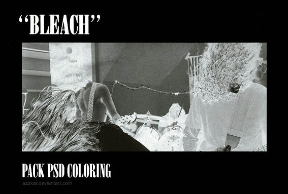 bleach: psd coloring pack