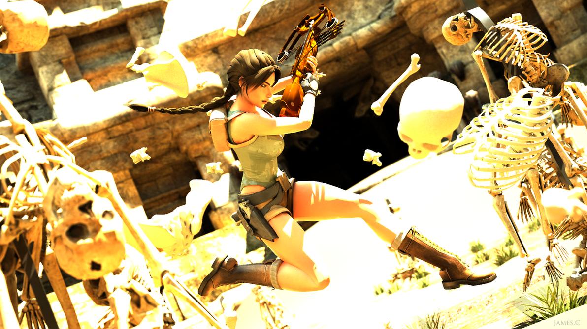 Tomb Raider Last Revelation - Skeleton by James--C