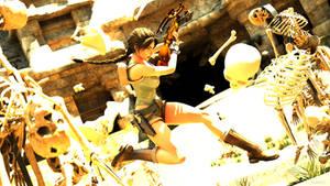 Tomb Raider Last Revelation - Skeleton