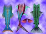 Mermaid tails pack 1