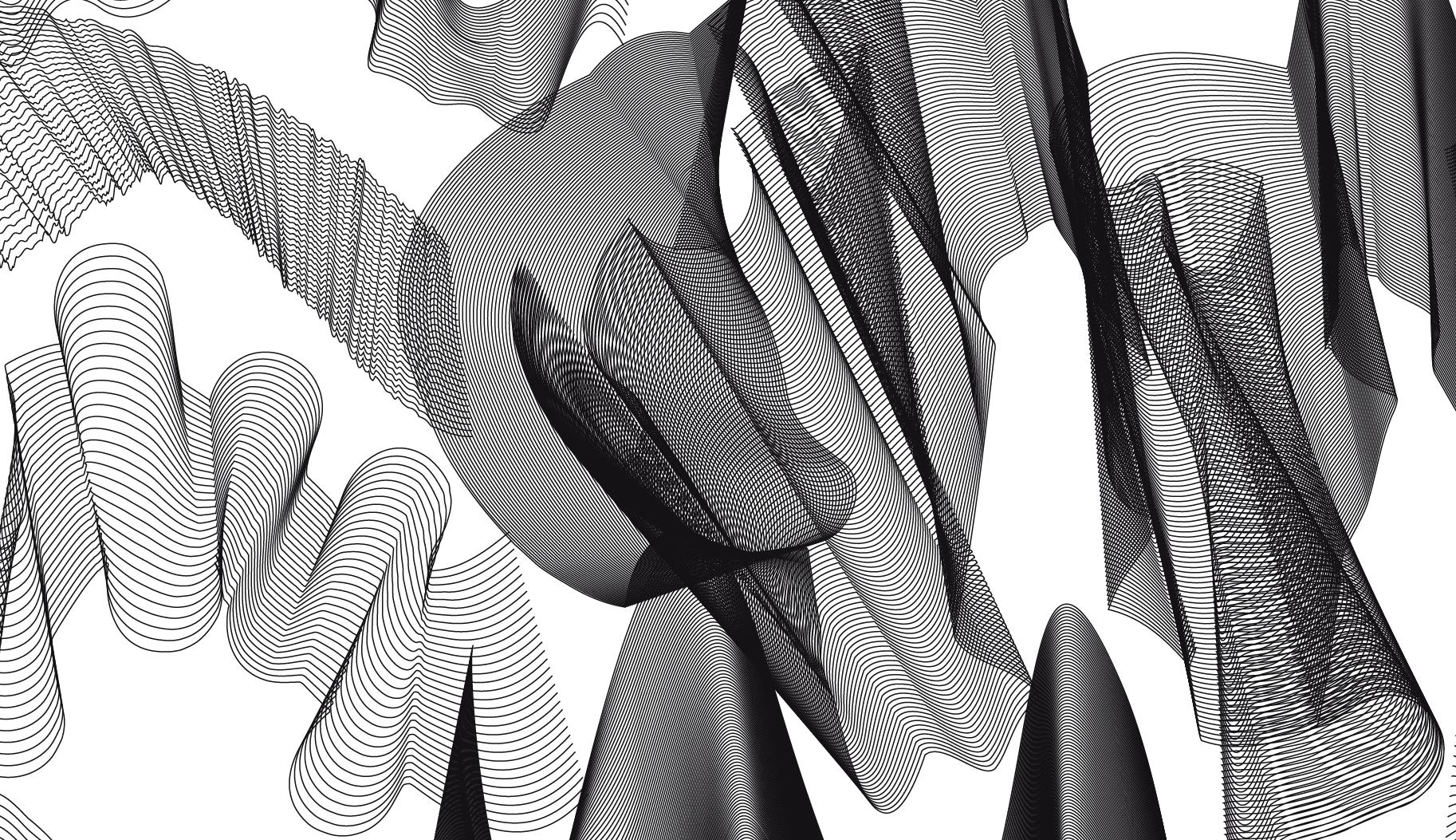 Vectorwellen - Photoshop Brush