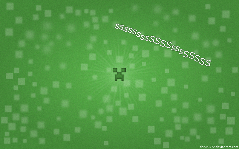 Minecraft creeper wallpaper by darktux72 on deviantart minecraft creeper wallpaper by darktux72 voltagebd Choice Image