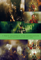 7 PSD Graphics Tom Hiddleston by shad-designs