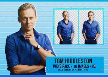 PNG Pack Tom Hiddleston 01 by shad-designs