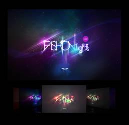 Fashion Lights LOGO Wallpaper