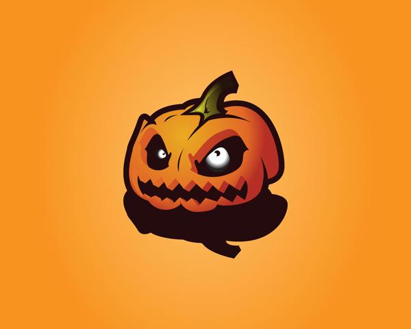 Evil Pumpkin Wallpaper by Chubby-Cherry