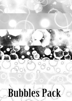 Screentones - Bubbles and Circles Pack