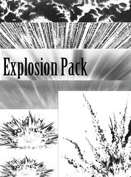 Screentones - Explosion Pack