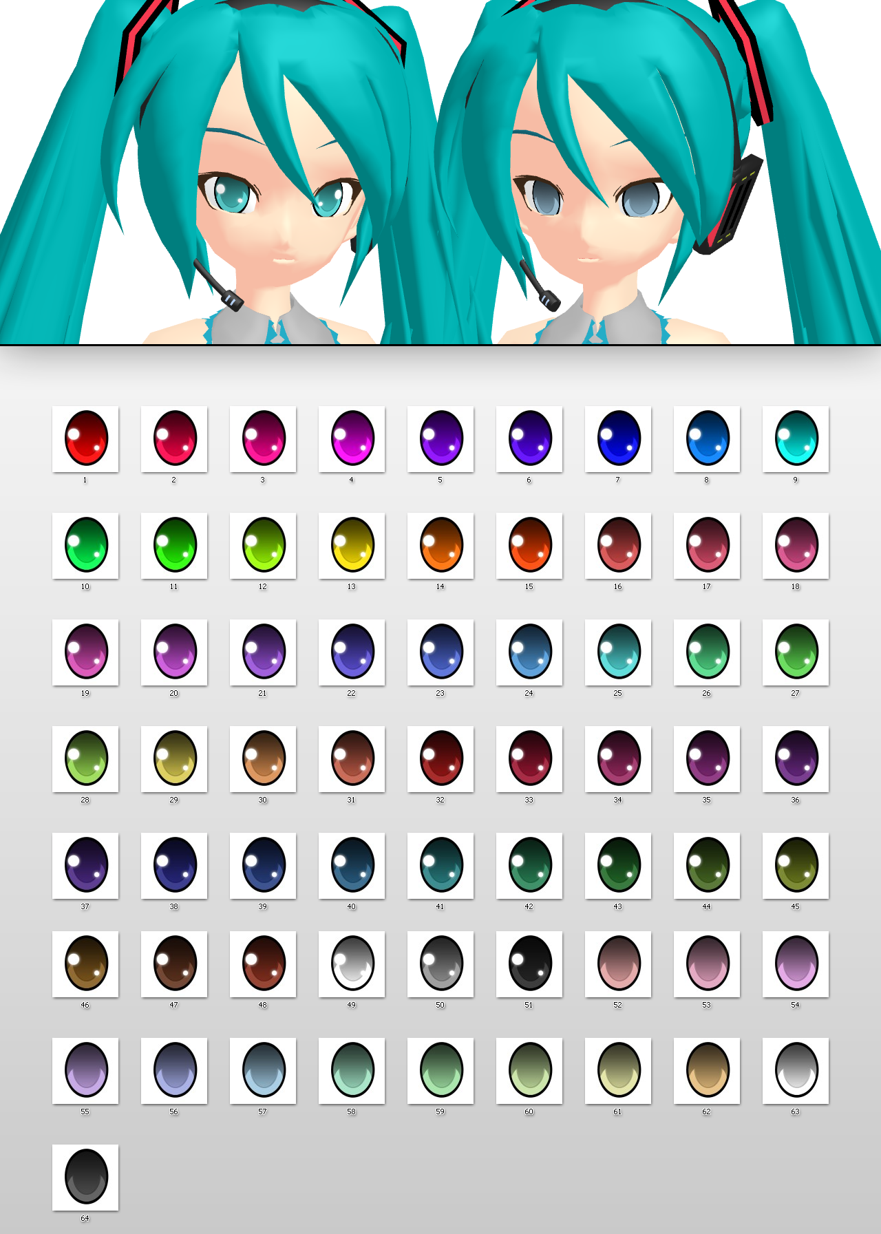 _MMD_ Nakao style eyes _DL_ by xXHIMRXx