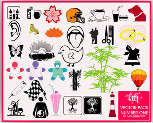 Vector Stock Pack Number One by thesunshadow