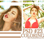 PSD Coloring #23