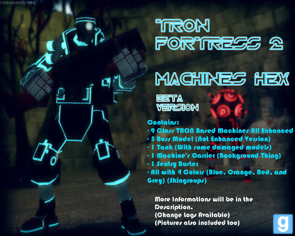 DL Gmod] TRON Fortress Machines Hex (Beta) by FarhanHQ on DeviantArt