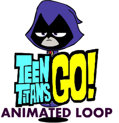 Teen Titans GO! - Raven Floating GIF by Mikeonic