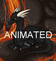 Animated Dragon by Malk-White