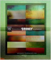15 'grungy'800x600 textures by Sarytah