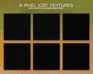 6 pixel icon textures by Sarytah
