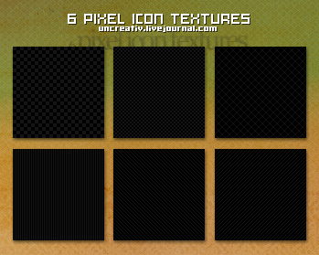 6 pixel icon textures by Sarytah