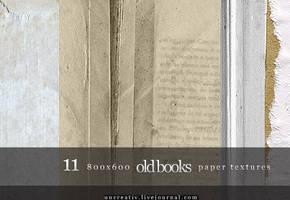 11 book paper textures 800x600 by Sarytah