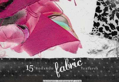 15 fabric textures - 800x600