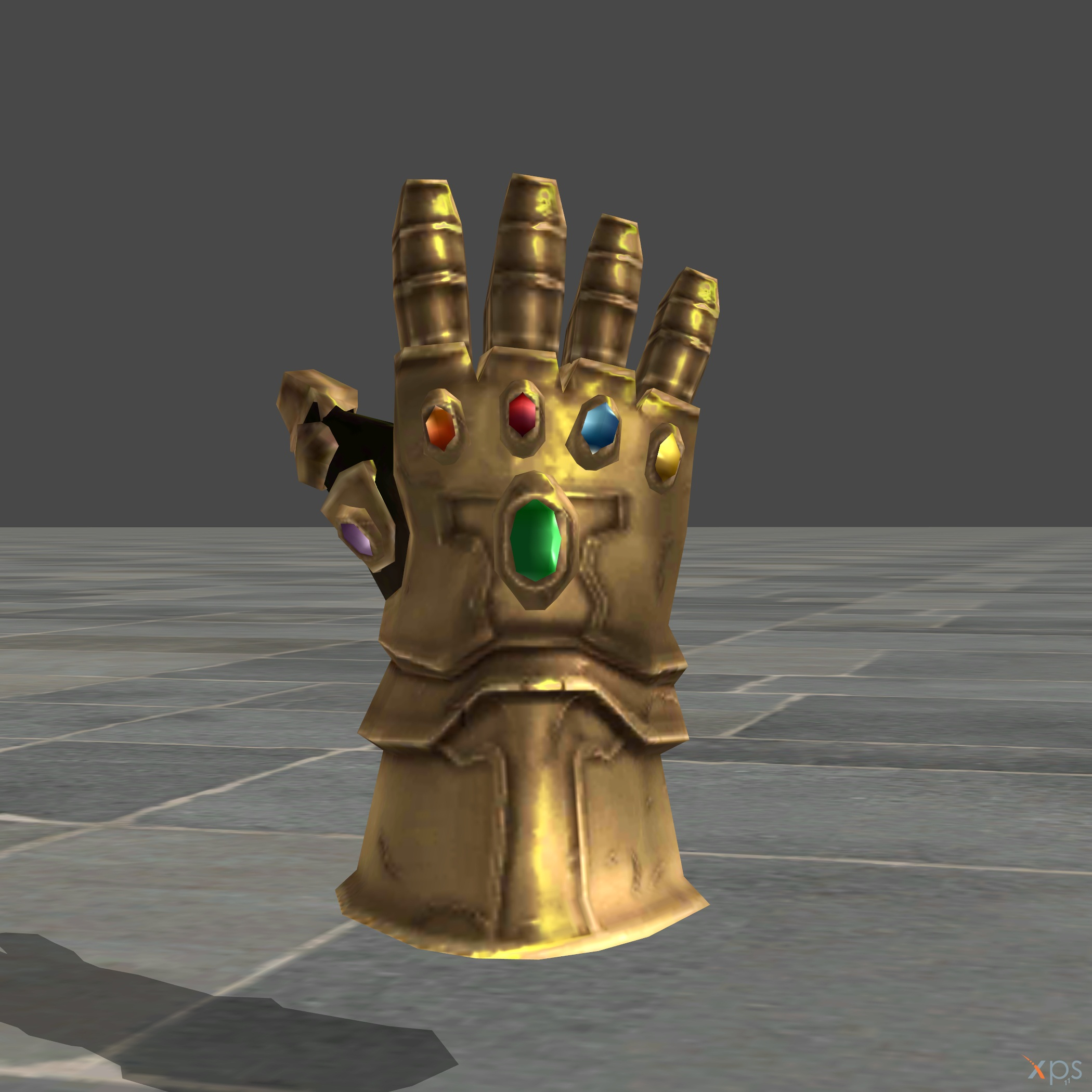 Infinity Gauntlet OBJ and XNA by SSingh511 on DeviantArt