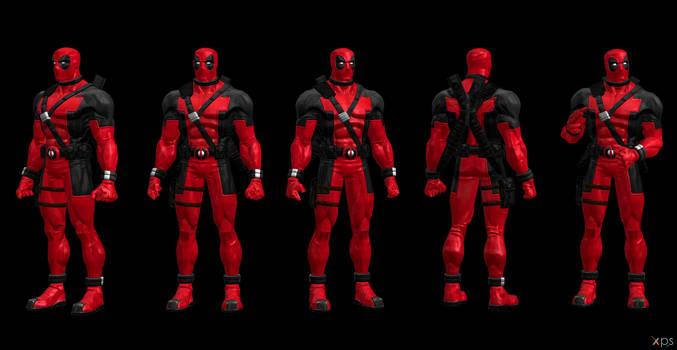 Deadpool Movie Costume (CoC Modified)