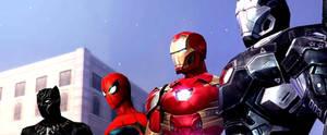 Marvel Future Fight Ironman Side (FBX)