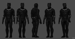 Black Panther Kelloggs Modified
