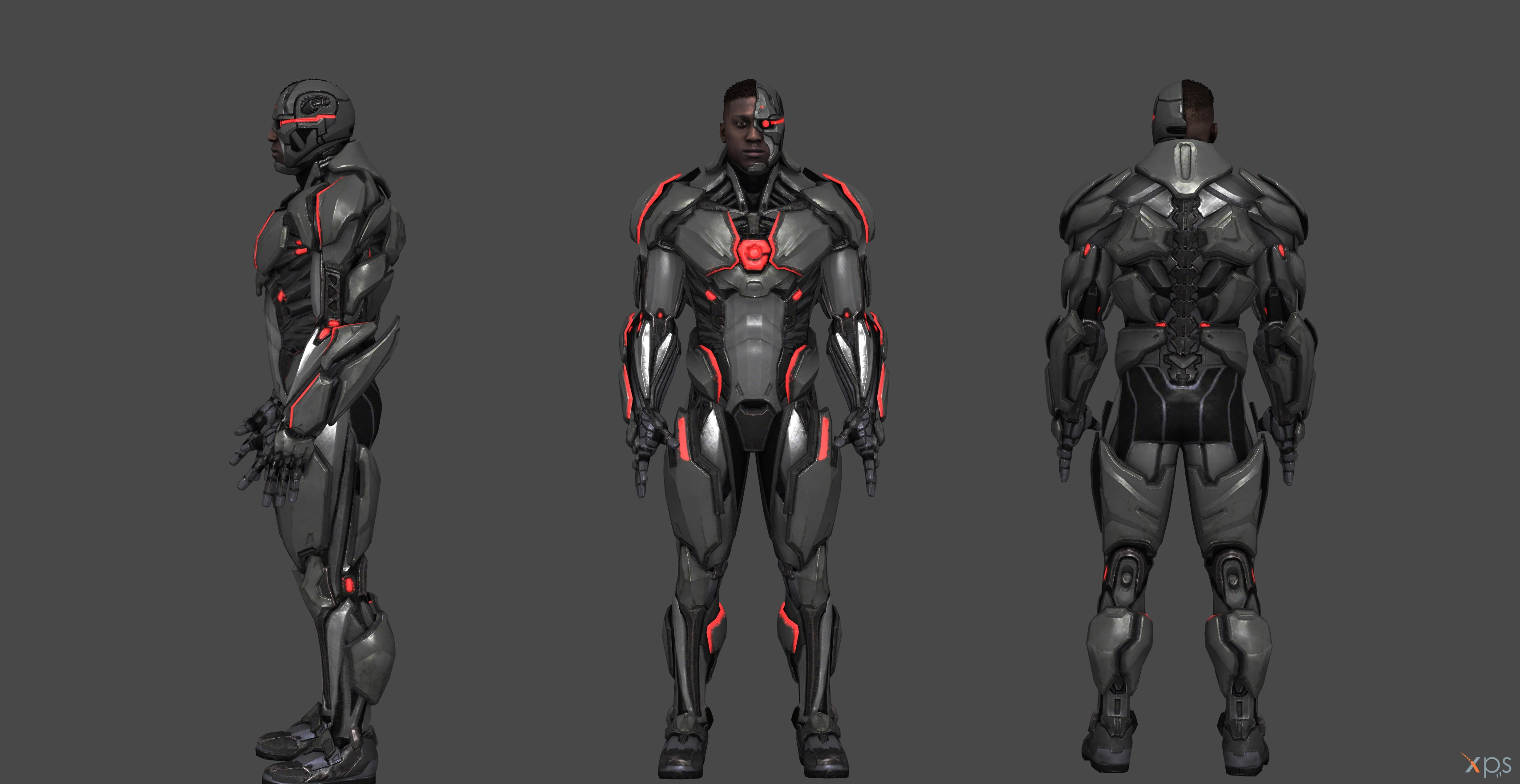 cyborg injustice 2 second upgrade by ssingh511 on deviantart
