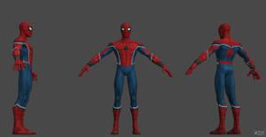 CoC Spiderman (HC) Static Model
