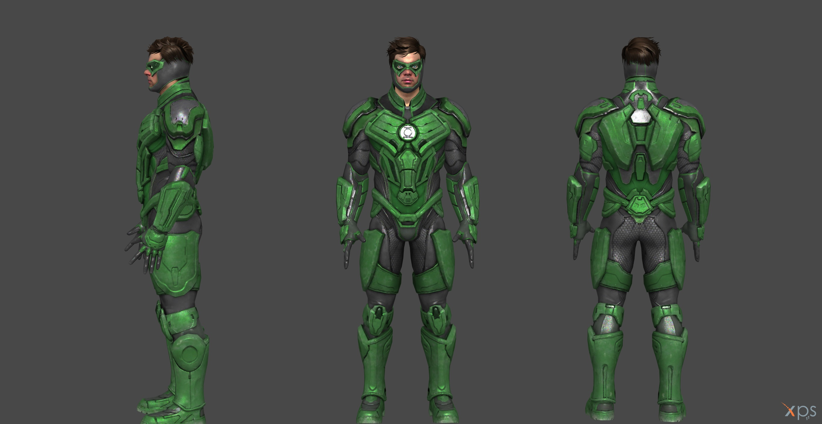 Green Lantern Injustice 2 by SSingh511 on DeviantArt