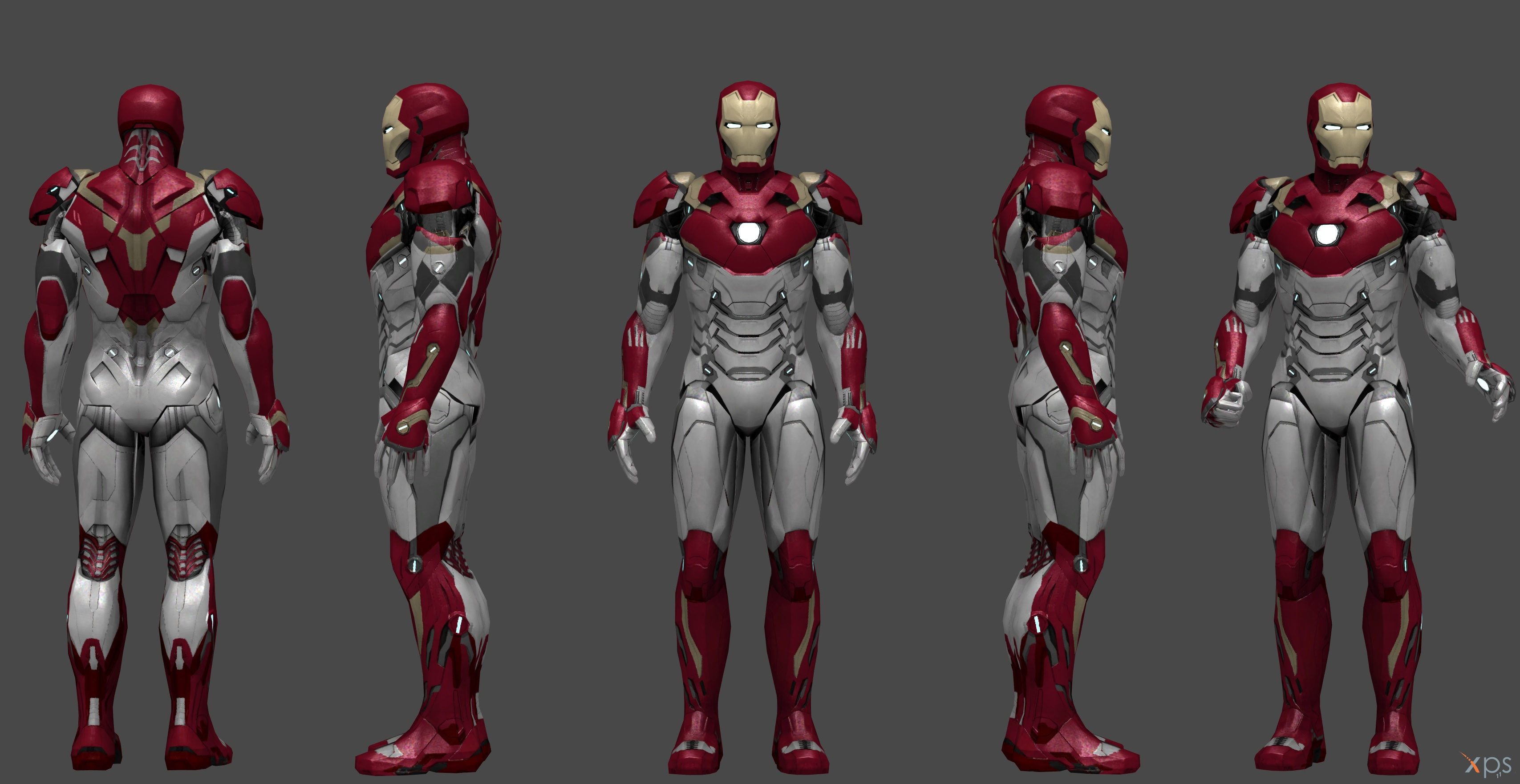 Ironman Mark 47 - Homecoming MH by SSingh511 on DeviantArt