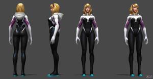 Spider Gwen (Unmasked) - Future Fight