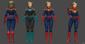 Brie Larson - Captain Marvel Custom (XNA)