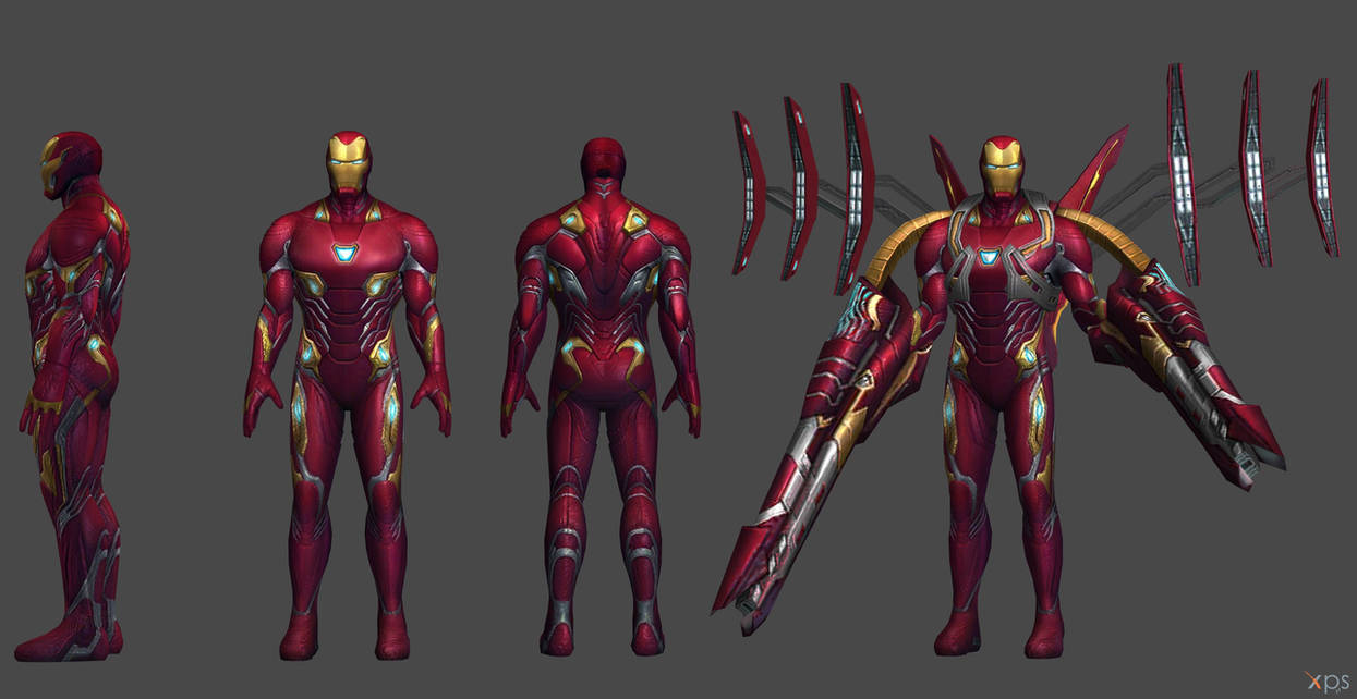 Ironman MK 50 - IW (XNA and FBX) by SSingh511 on DeviantArt