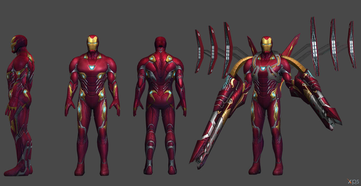 ironman mk 50 - iw (xna and fbx)ssingh511 on deviantart
