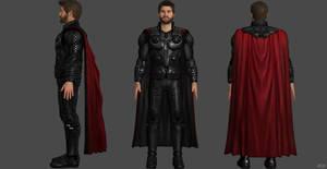 Chris Hemsworth - Thor IW  Custom Model by SSingh511
