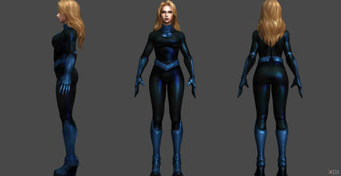 Invisible Woman FF by SSingh511