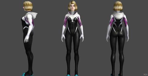 Hailee Steinfeld : Spider-Gwen SV Custom by SSingh511