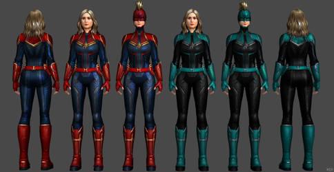 Brie Larson - Captain Marvel MCU FF by SSingh511
