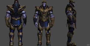 Thanos Endgame FF by SSingh511