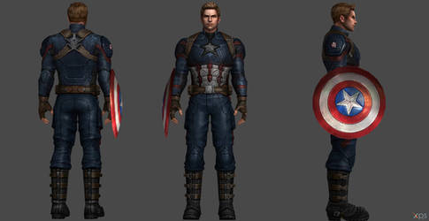 Captain America AE FF by SSingh511