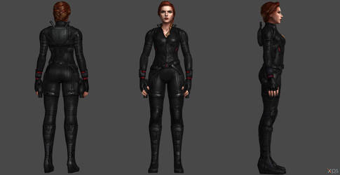 Black Widow AE FF by SSingh511