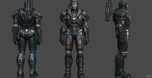 War Machine AE FF by SSingh511
