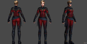 Captain Marvel AE by SSingh511