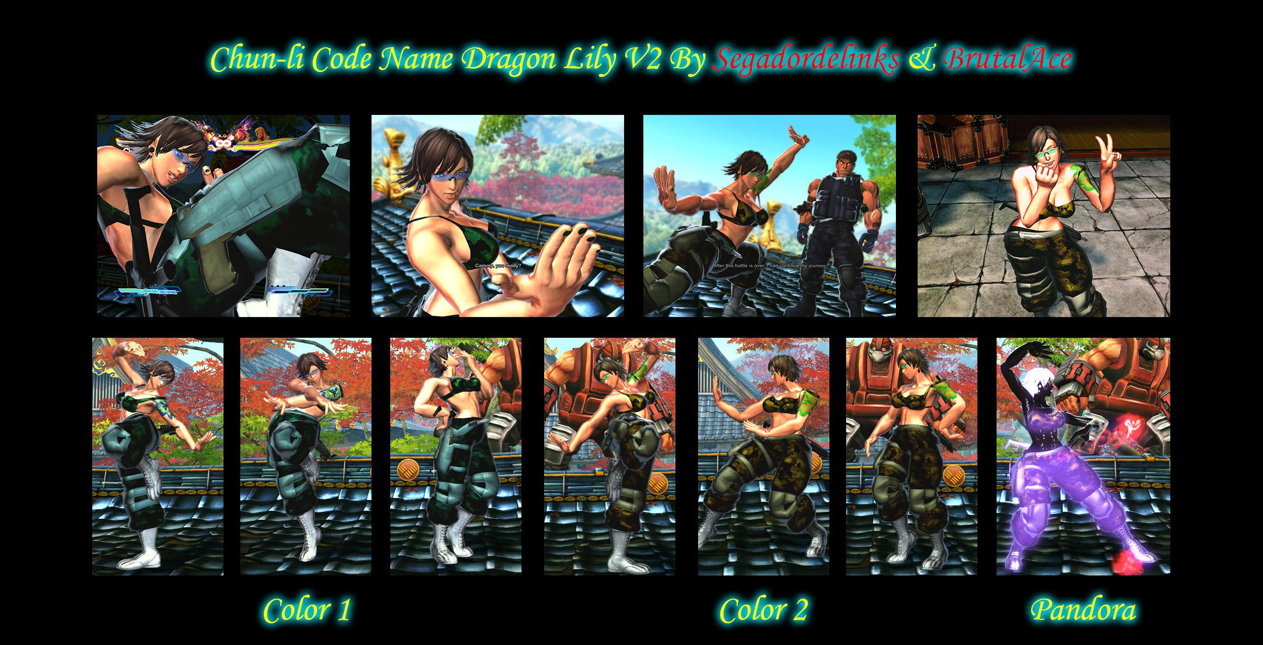 Dragon Lily V2 by Segadordelinks and BrutalAce by BrutalAce