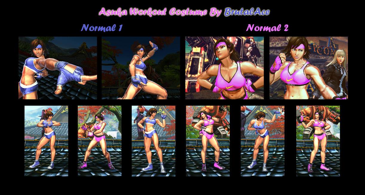Asuka Workout Costume (Based on Asuka C3) by BrutalAce