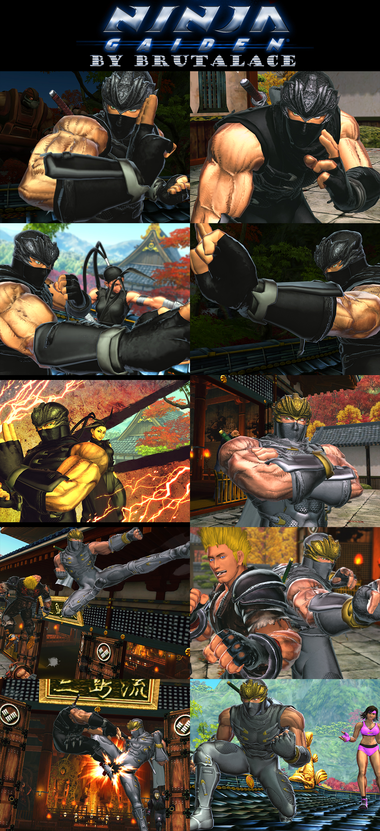 Ninja Gaiden (Ryu Hayabusa) By BrutalAce by BrutalAce