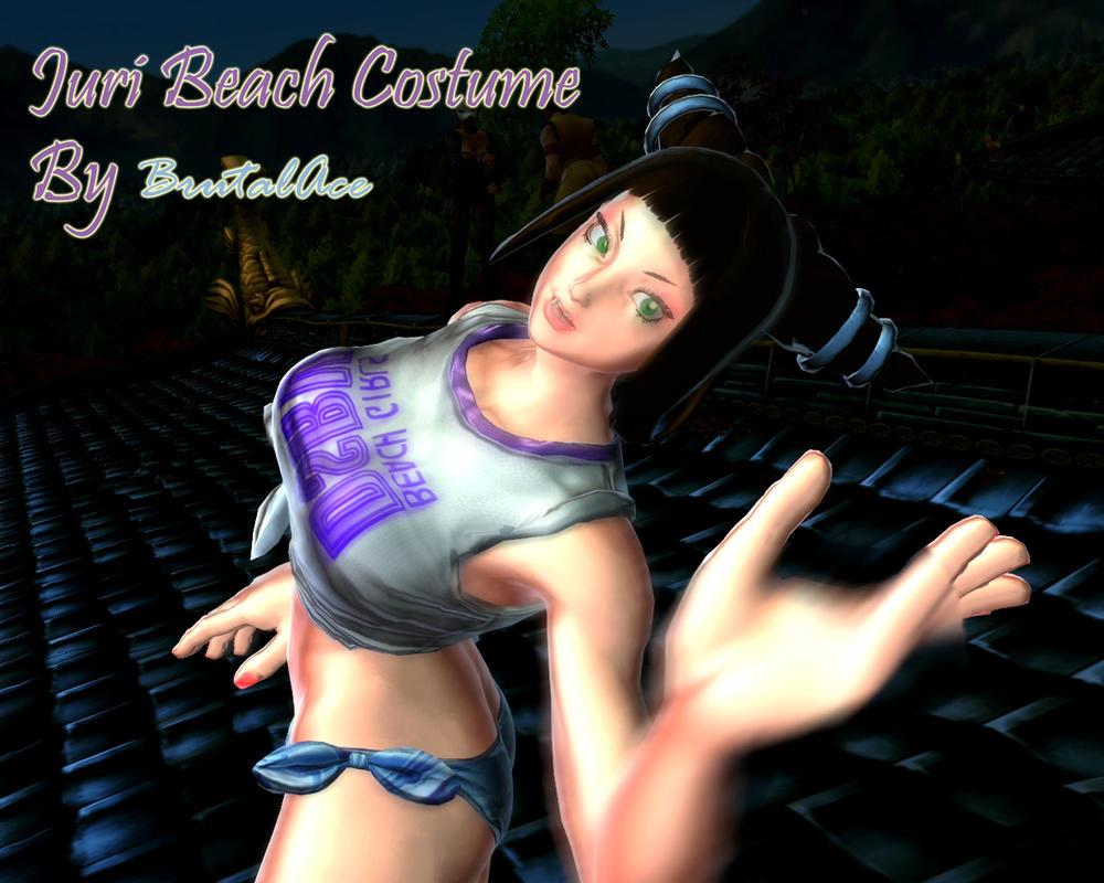 Juri Beach Costume by BrutalAce