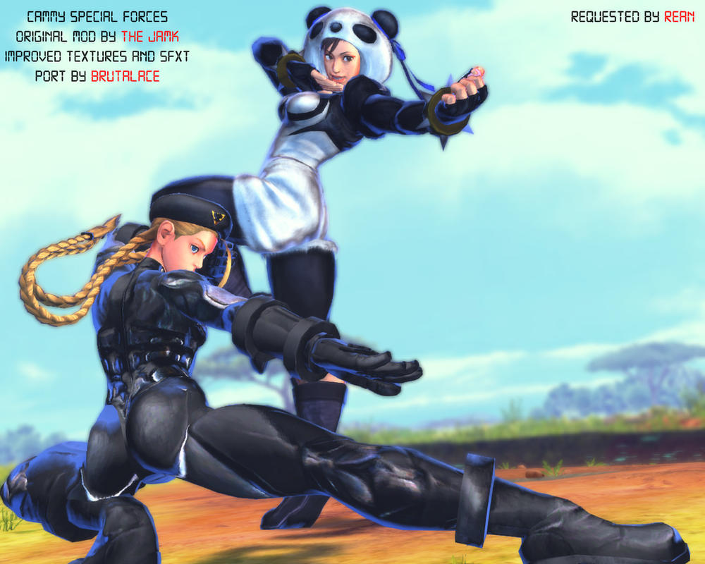 Cammy Special Forces By BrutalAce by BrutalAce